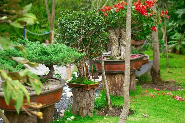 bonito diseño adornos jardín