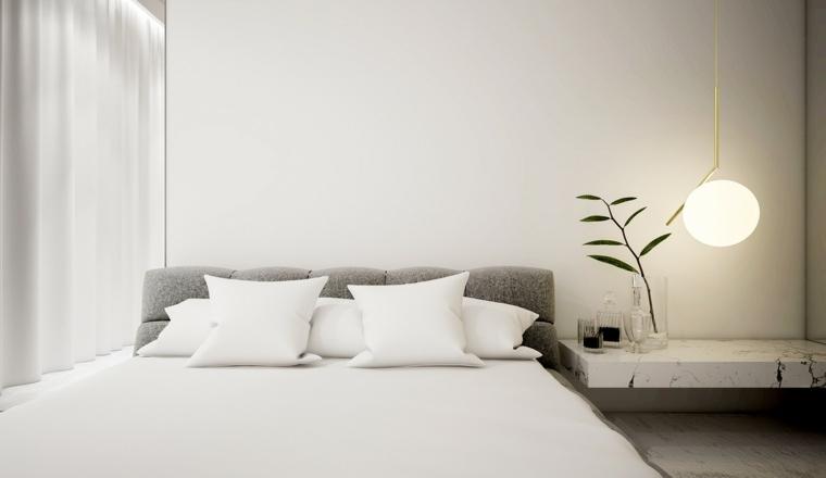 plantas colores estrictos mueble cojines
