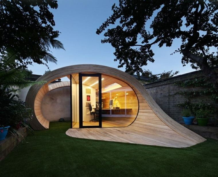 platform 5 arquitectos disenaron oficina jardin ideas