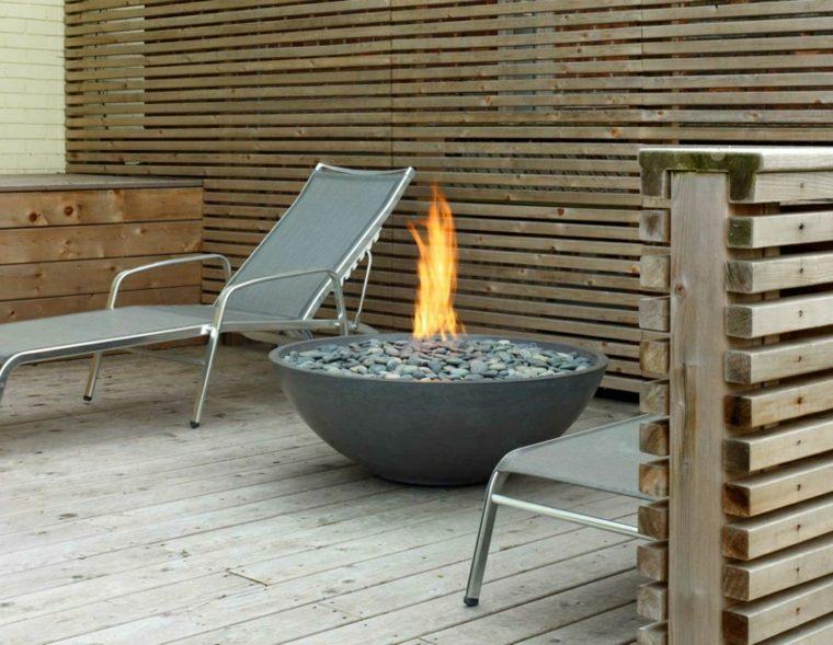 plato fuego grande fuego jardin