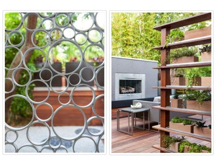 puertas aluminios materiales ideas arboles