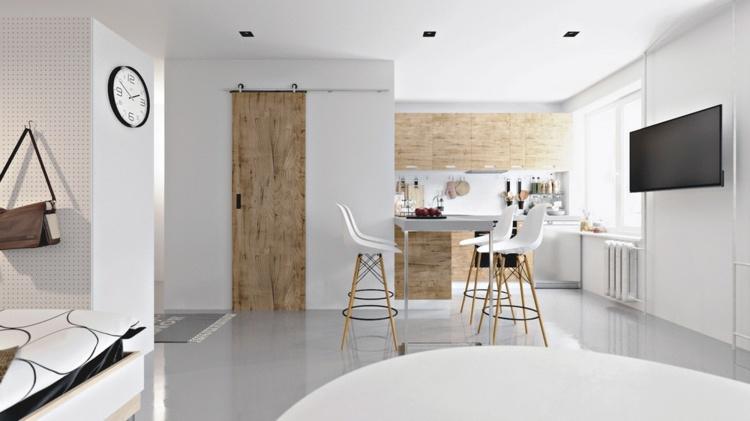 puertas rusticos madera divisiones mesas