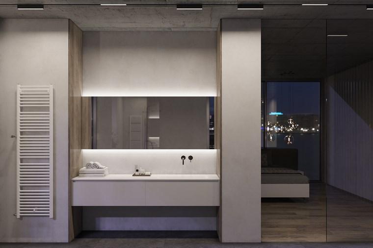 Reformar baño e iluminarlo correctamente -