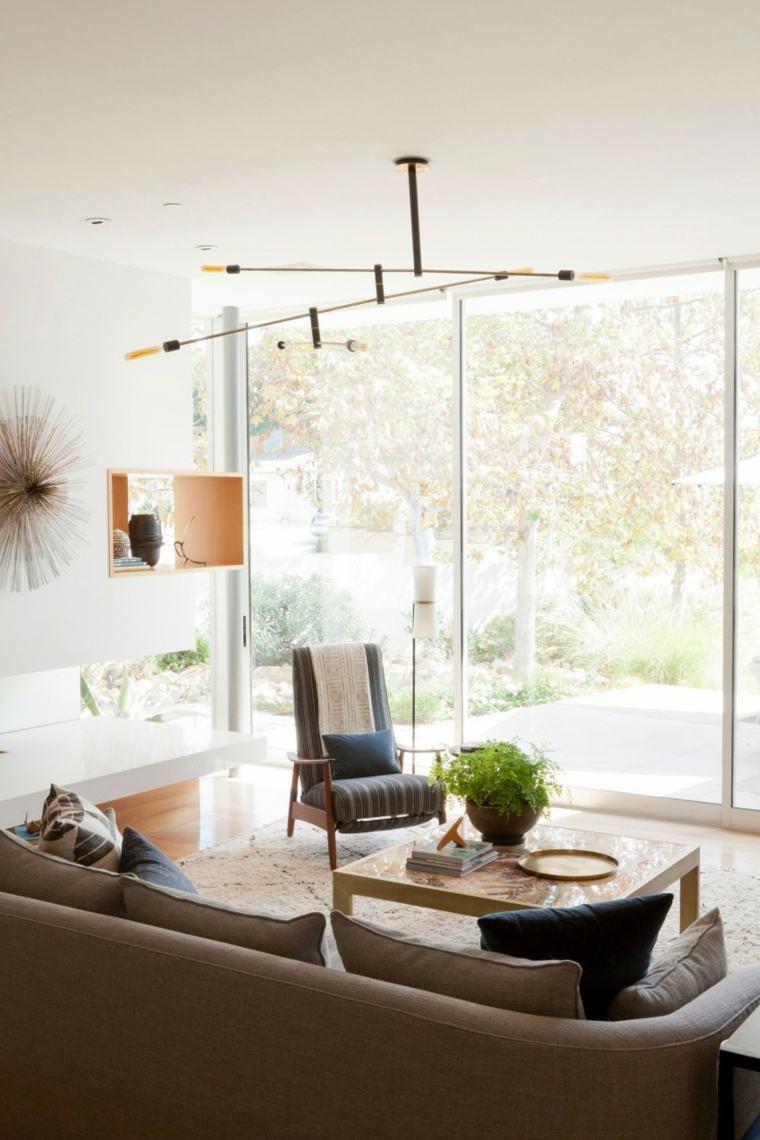 residencia contemporanea salon luminoso ventanales ideas