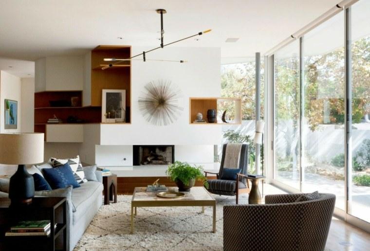 residencia contemporanea salon muebles bonitos ideas