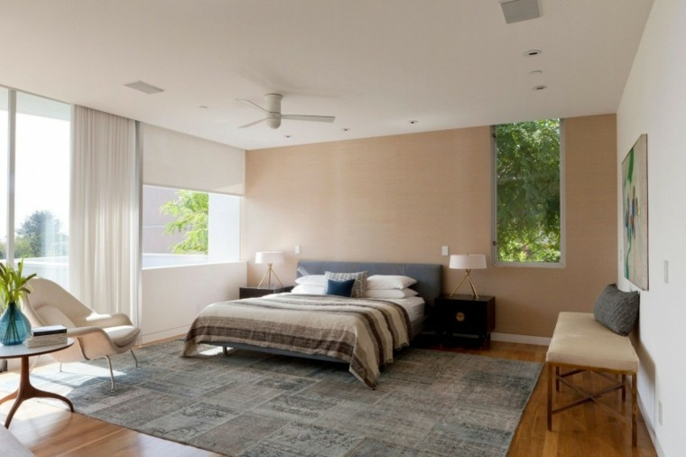 residencia moderna dormitorio diseno amplio ideas