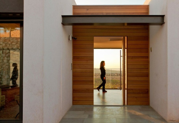 Revestimiento de paredes interiores con madera 34 ideas - Revestir pared exterior ...