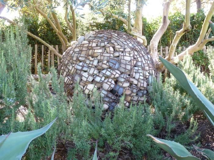 rocas decorados muebles naturales muestras