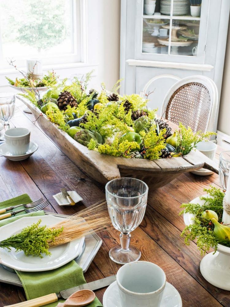 Centros de mesa decoracion elegante para comedores for Centro de mesa modernos
