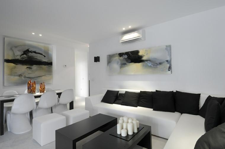Salones en blanco   descubra los 100 interiores más modernos