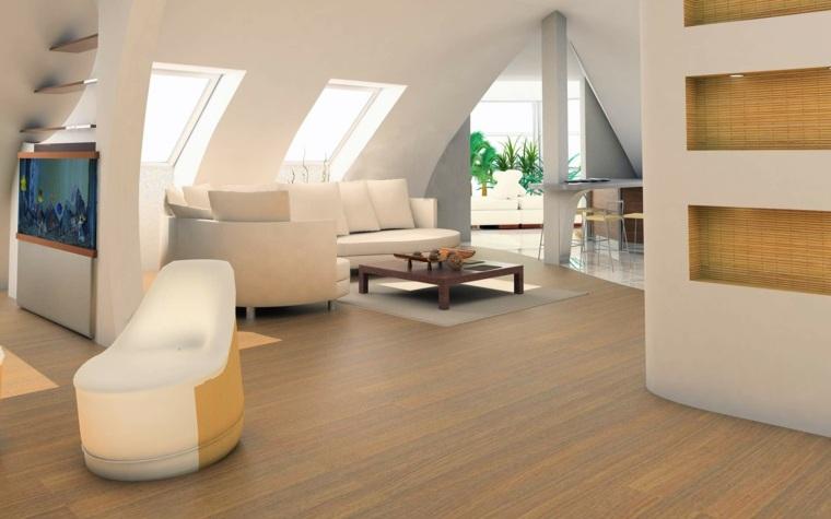 sala estar decoracion futurista