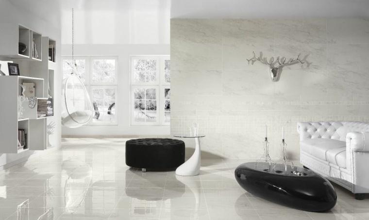 salón lujoso moderno blanco