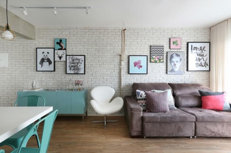 salon diseno moderno Casa 2 Arquitetos ideas