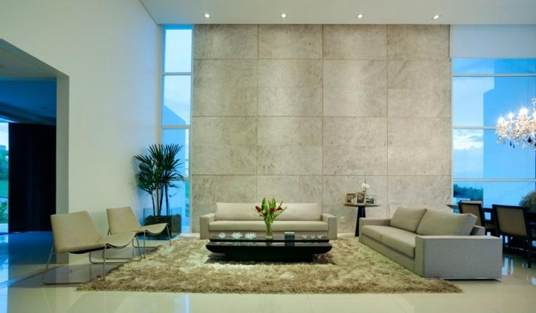 salon diseno moderno Dayala + Rafael Estúdio de Arquitetura ideas