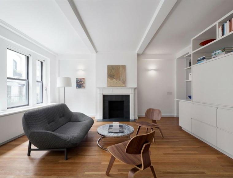 salon diseno moderno diseno simple pocos muebles ideas