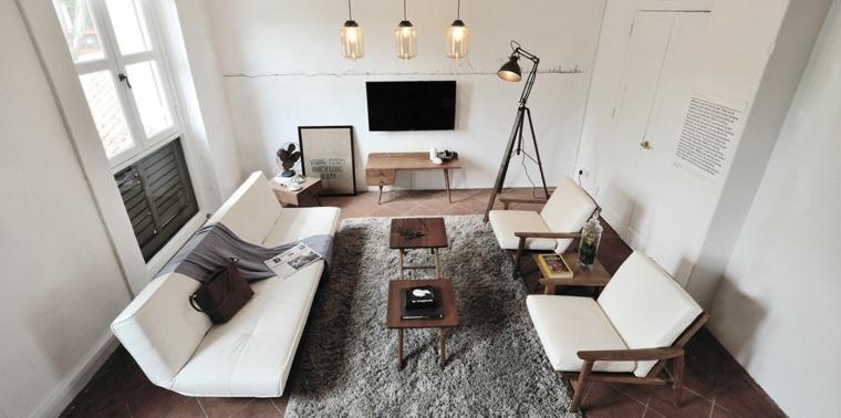 salon moderno diseno vintage muebles comodo ideas