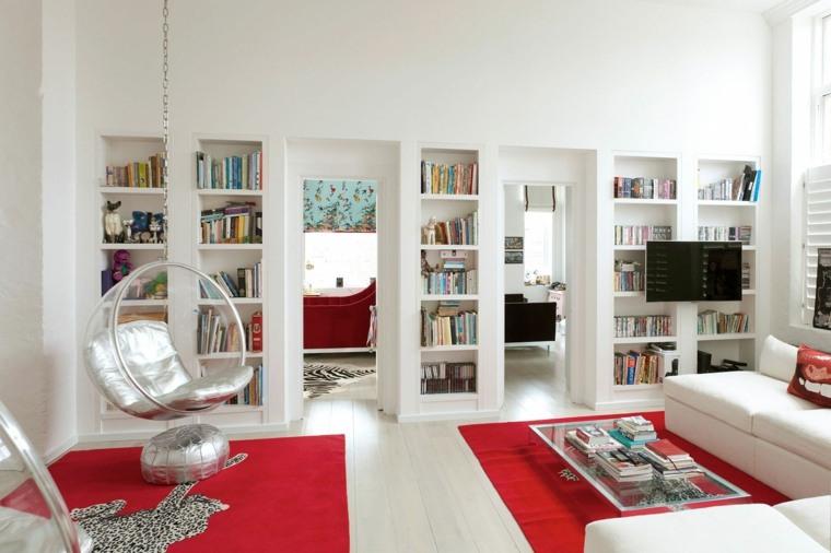 salon moderno original diseno blanco