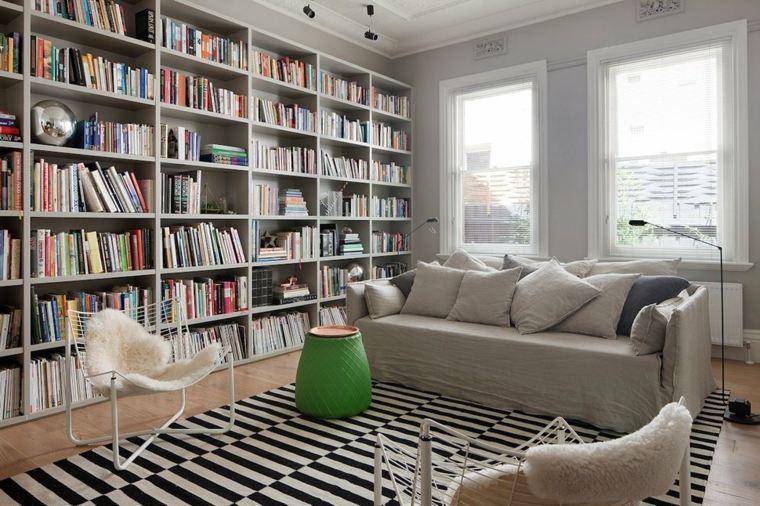salon estilo moderno sala lecturas
