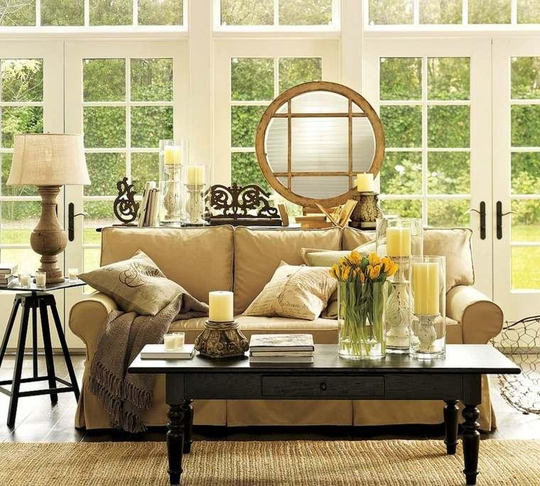 salones con encanto decoracion muebles alfombra simplesalon ideas