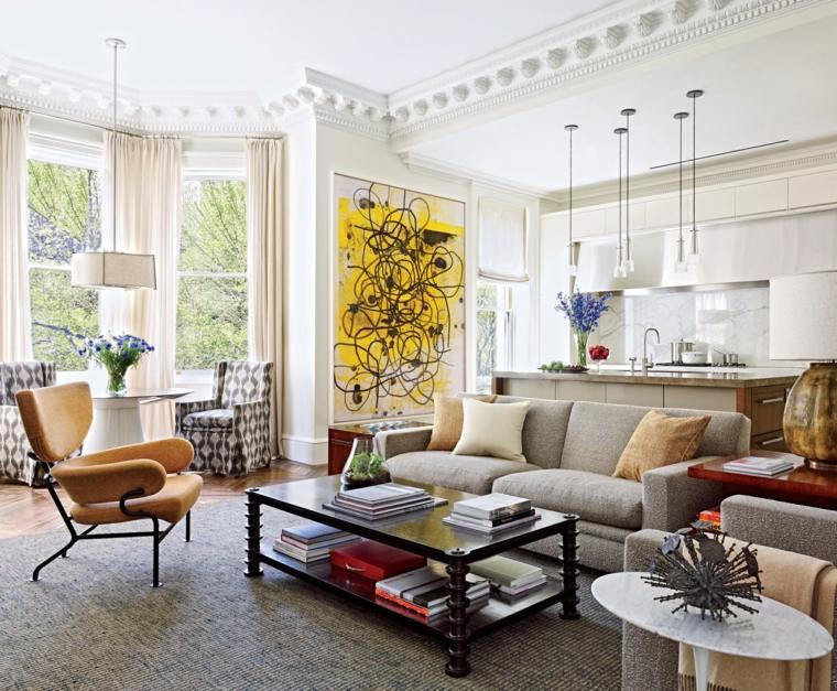salones con encanto decoracion muebles salon colores opciones ideas