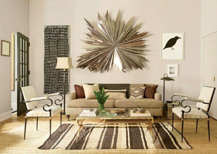 salones con encanto decoracion muebles salon opciones decorar pared ideas