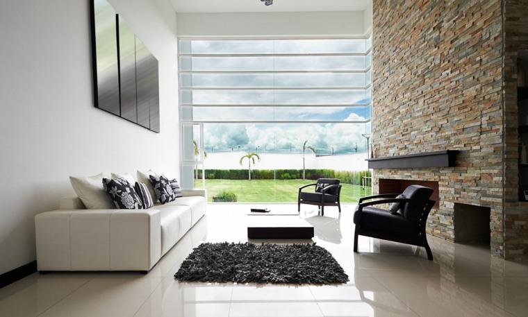 sofas de color blanco modernos
