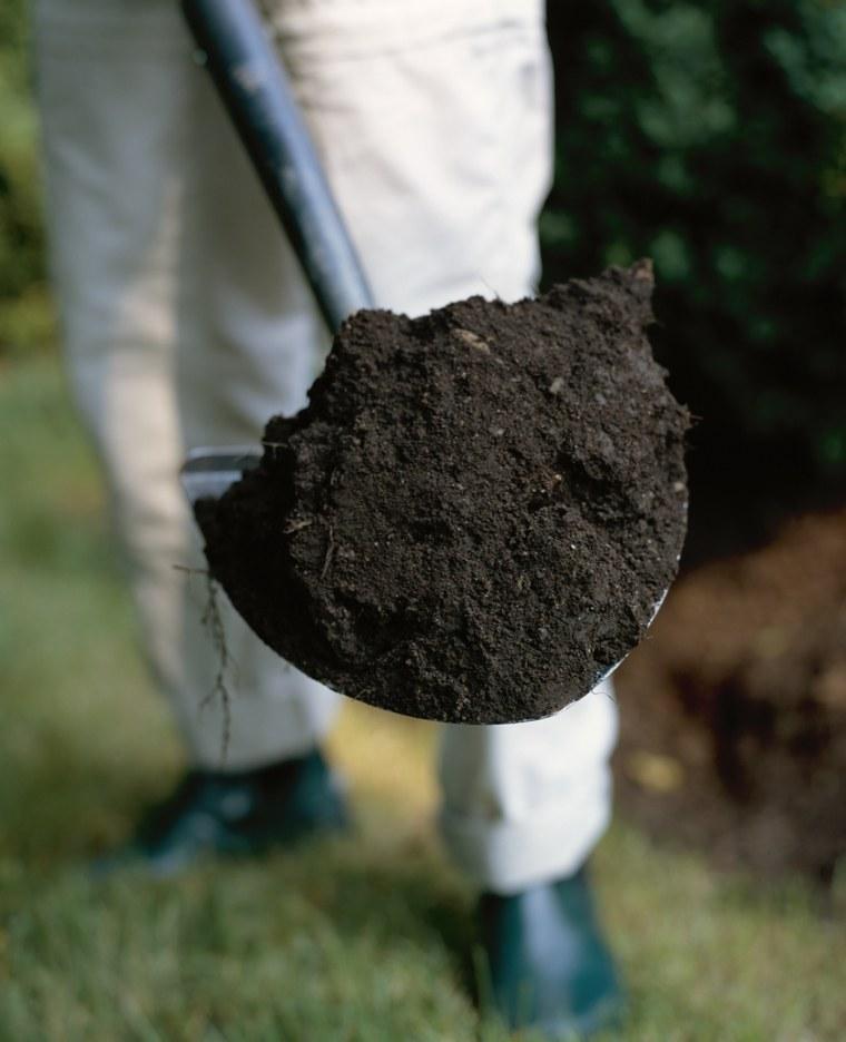 suelo plantar macetas jardin terreno