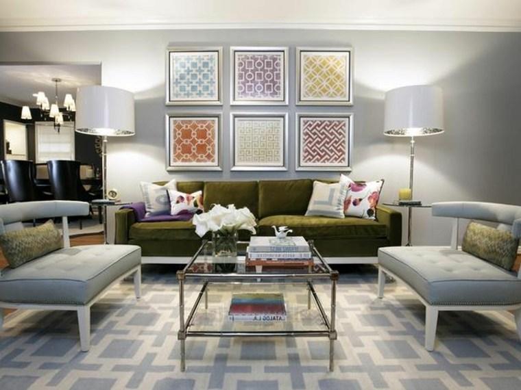 tapices modernos telas cuadros marcos