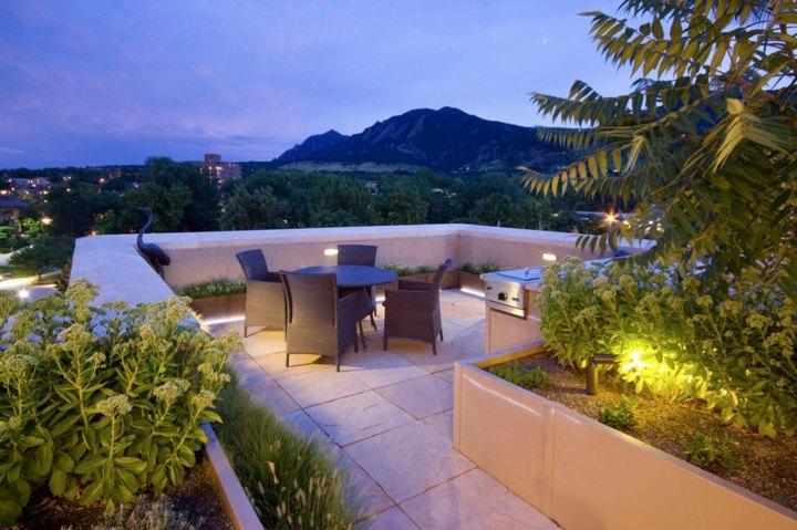 terrazas azotea fresca ideasles led jardines