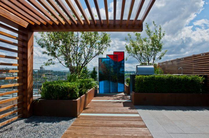 terrazas azotea listones elegantes madera
