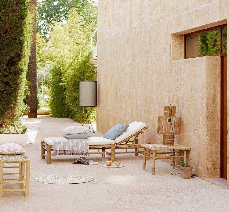 terrazas con encanto camas exteriores camas