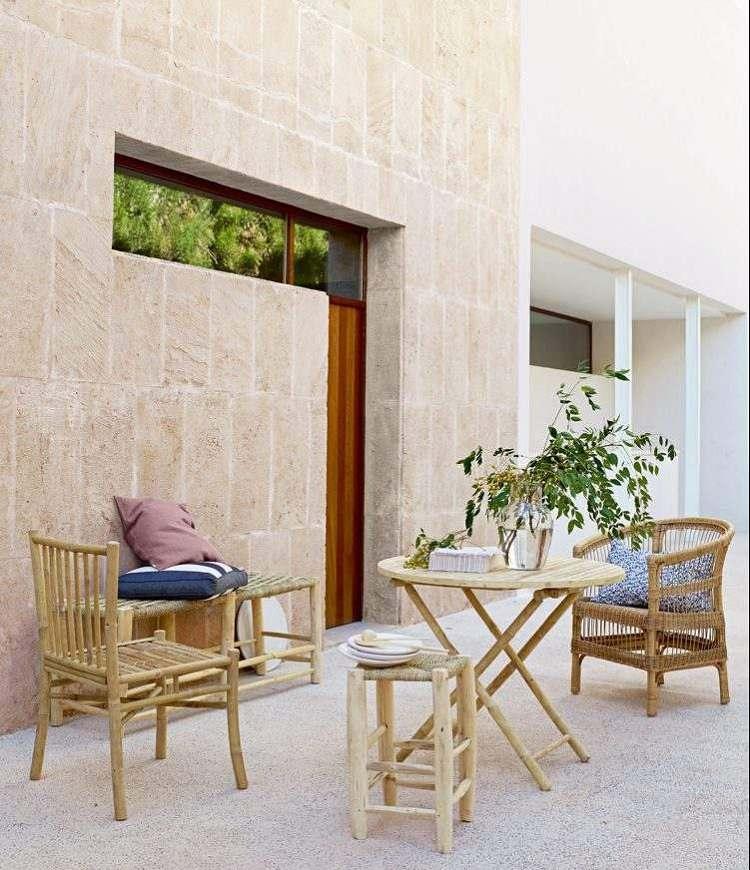 terrazas con encanto condiciones madera paredes