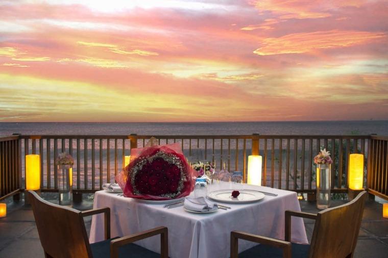 terrazas decoradas iluminadas lamparas modernas terraza ideas