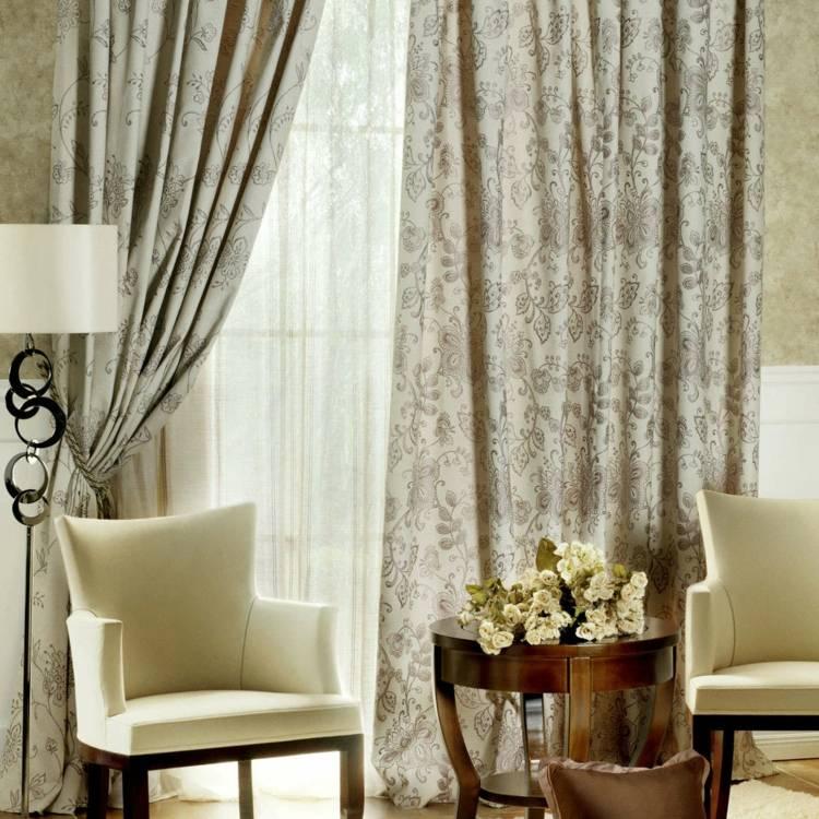 Tipos de cortinas variantes y consejos para seleccionarlas - Accesorios para cortinas ...