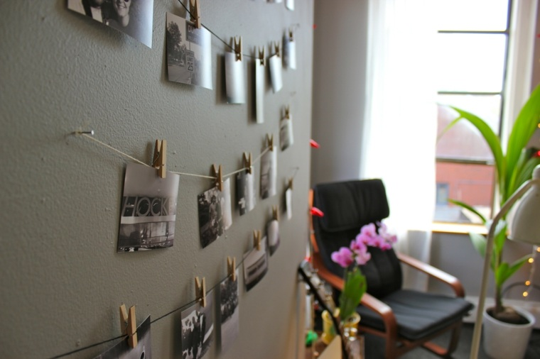 trabajos manuales proyectos DIY decoracion pared ideas