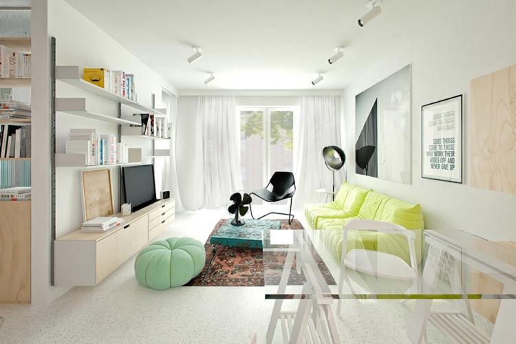 transparentes muebles elementos sillones cojines