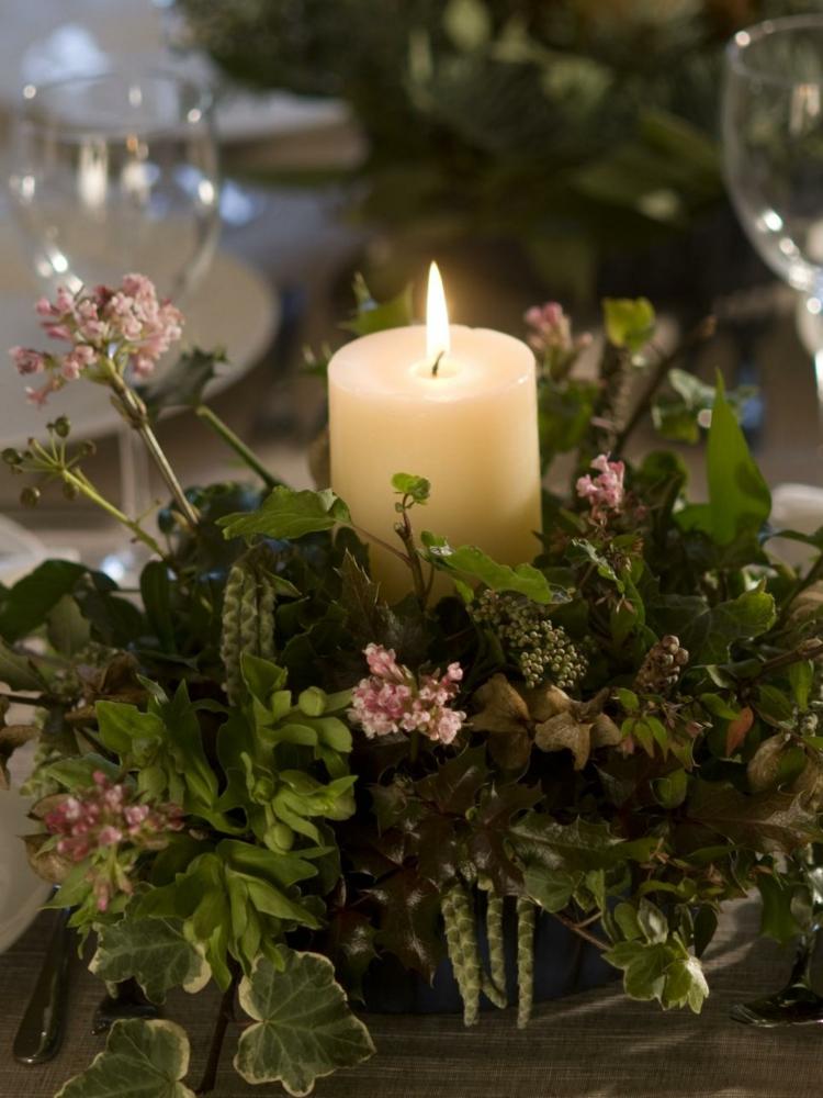 velas-plantas-ambiente-romantico-ideal