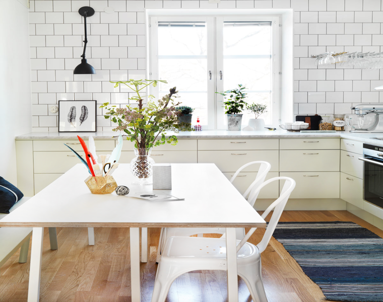 diseño cocina comedro moderna
