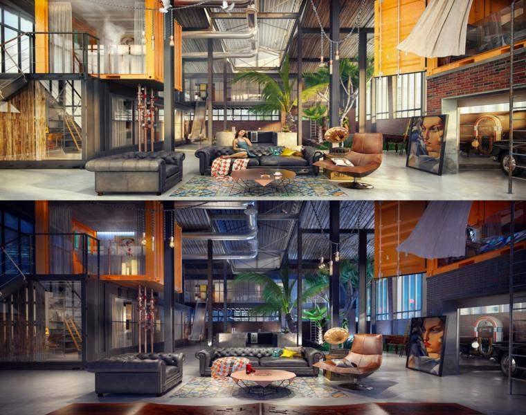 apartamentos lofts Adel Maza