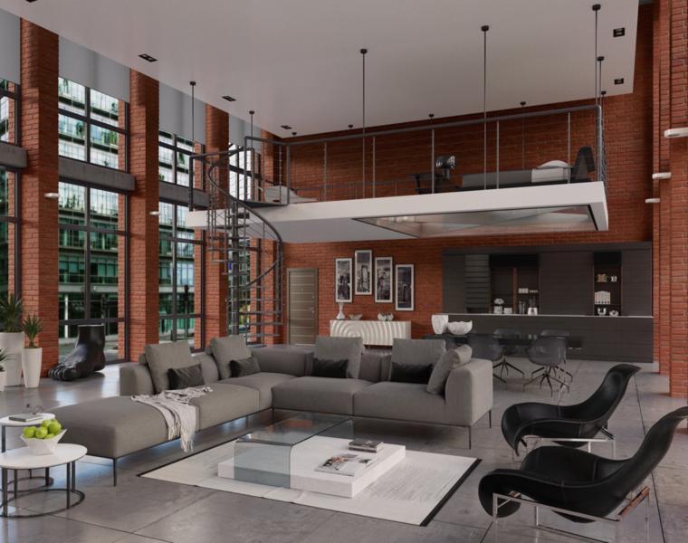 Lofts de dise o recorre los 42 interiores m s - Diseno de lofts interiores ...