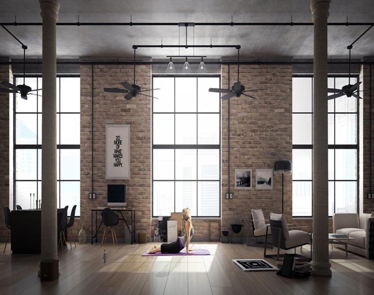 Javier Weinstein diseno apartamento loft