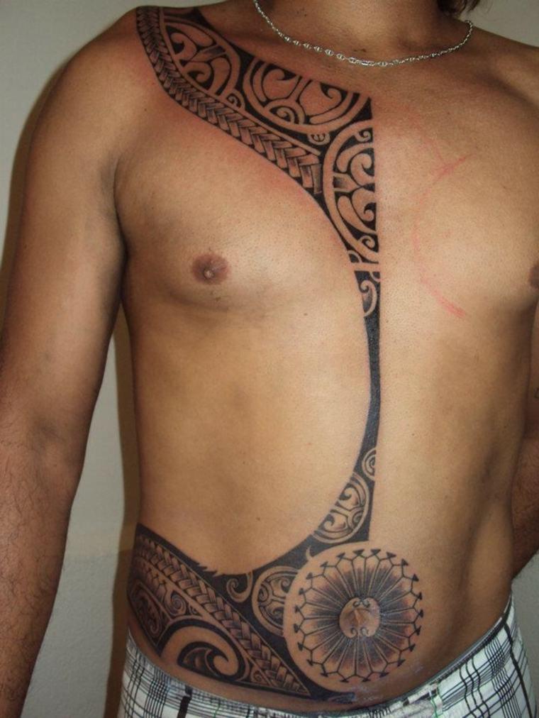 Tatuajes maories originales