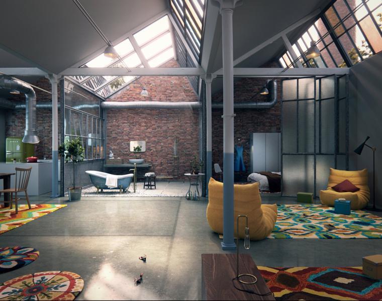 Marlis Streicher loft moderno