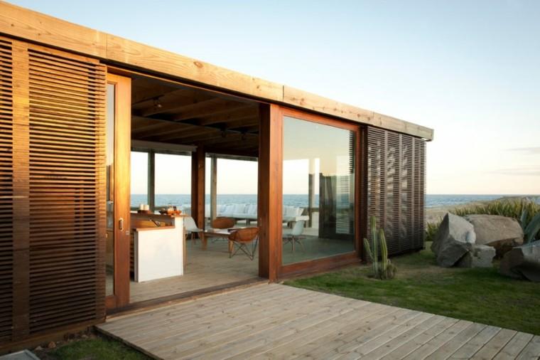 Martin Gomez Arquitectos diseno casa playa persianas ideas