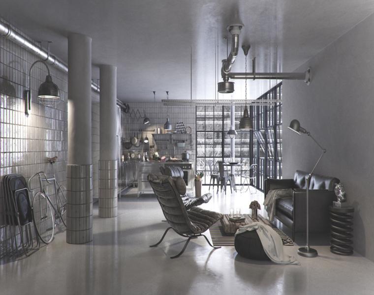 ReFL Studio piso loft de