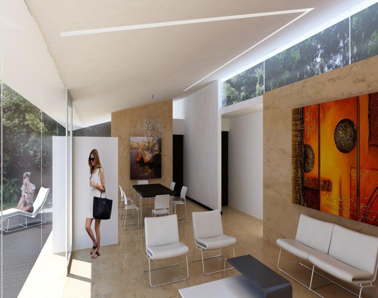 Rogelio Isai salon loft interior