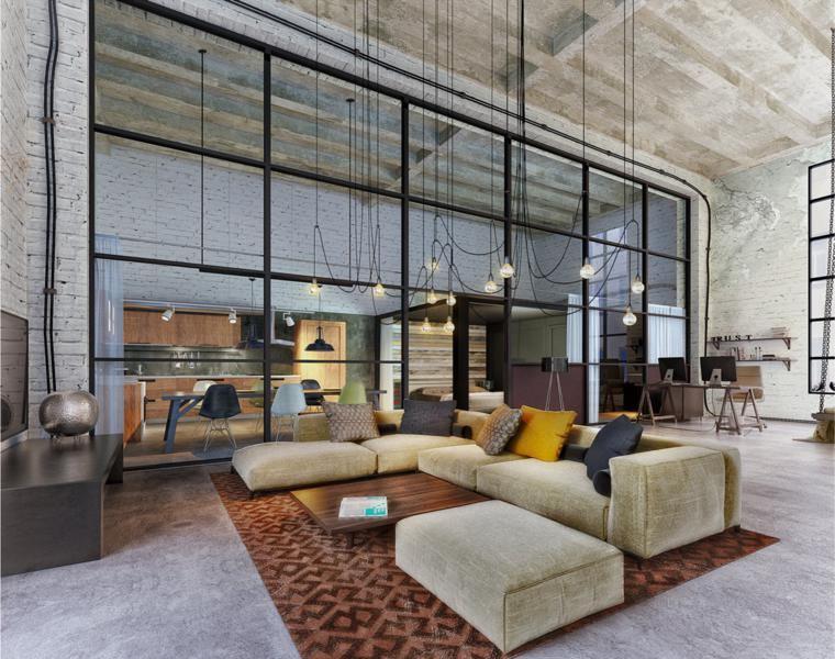 Lofts de diseño - recorre los 42 interiores más impresionantes -