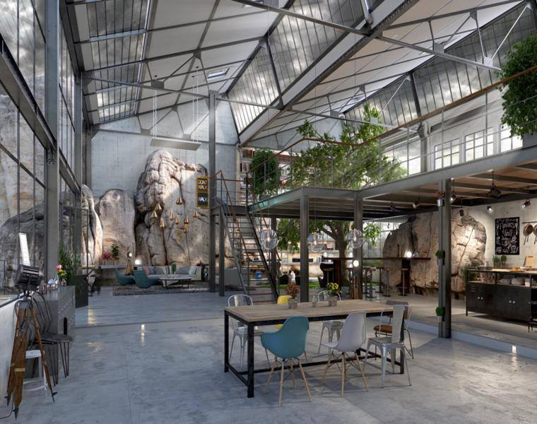 Thomas Pasquet diseño espacio loft