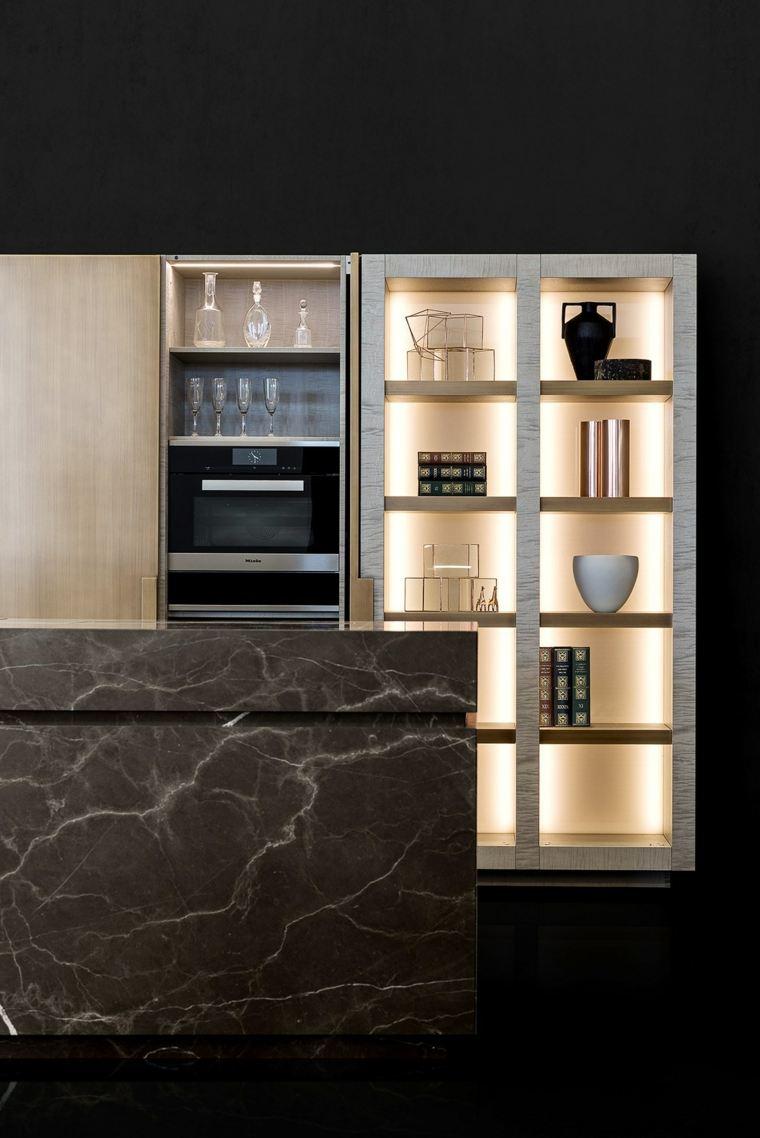 armario cocina moderna diseno opciones ideas