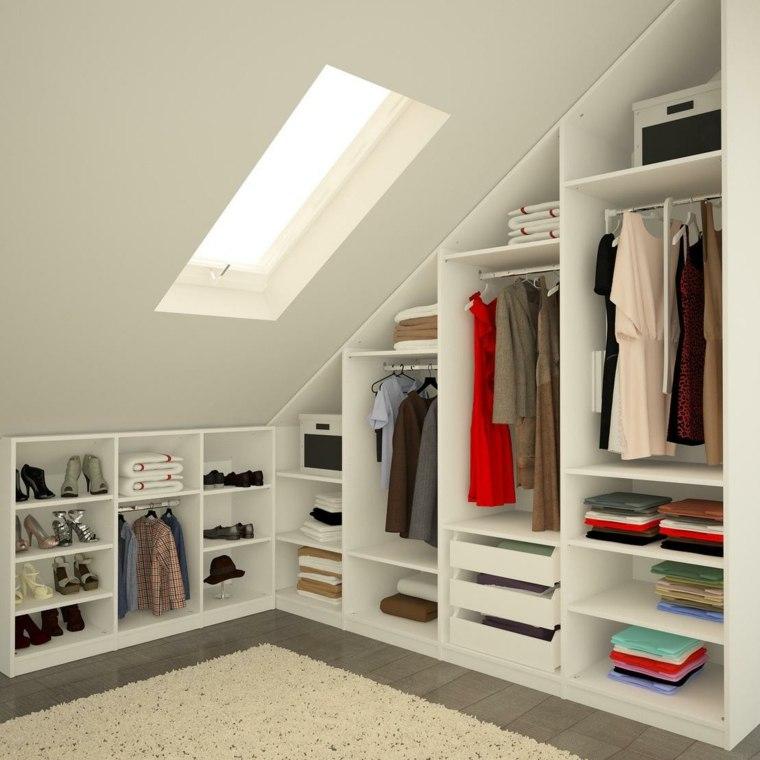 Armarios roperos y vestidores en el tico - Diseno de armarios online ...